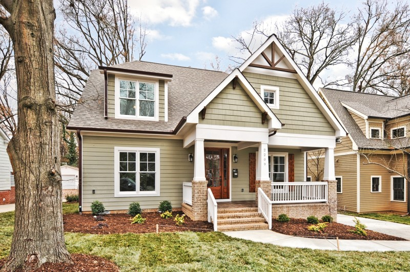 Front mvp construction for Craftsman homes in charlotte nc